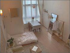 minimalist storage ideas for your small bedroom 20 ~ dreamapartment Small Room Bedroom, Bedroom Design, Room Inspiration, Minimalist Room, Interior, Bedroom Decor, Small Bedroom, Room Interior, Apartment Decor