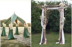 Les plus belles arches de mariage pour une cérémonie religieuse chargée en émotion