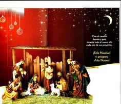 Tarjeta de navidad de editorial San Pablo serie Estrella de Belén 14