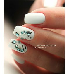 Heat Up Your Life with Some Stunning Summer Nail Art Butterfly Nail Designs, Butterfly Nail Art, Nail Art Designs, Elegant Nails, Stylish Nails, Trendy Nails, Cute Acrylic Nails, Gel Nails, Manicure