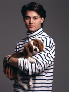 Johnny Depp....I remember having this pic on my wall and wanting a stripey turtleneck like Johnny lol