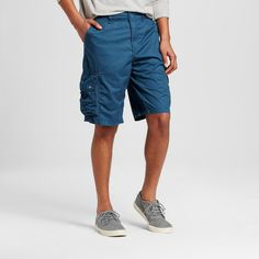 Men's Cargo Shorts Teal (Blue) 31 - Mossimo Supply Co.