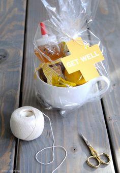 How-To: Get Well Kit  Via Make  Cute idea!