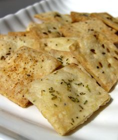Scientifically Sweet: Homemade Crackers
