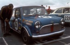 1969 BTCC Championship winning Cooper S , driven by Alec Poole
