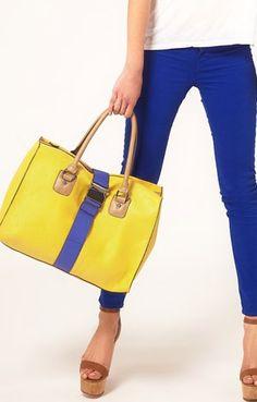yellow n blue,yey