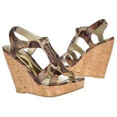 $78.99 CARLOS BY CARLOS SANTANA Pursuit Sandals Brown Multi Women`s Sandals class