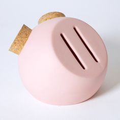 by APRRO Pig Bank, Happy Design, Gadgets And Gizmos, Pottery Designs, Money Box, Pottery Making, Ceramic Design, Modern Ceramics, Corporate Gifts