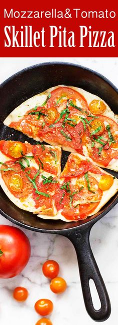 These pita pizzas take just minutes to assemble and cook! You don't ...