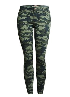 Stylish Camouflage Print Pencil Jeans_Butt Lifting Skinny Jeans_Women Jeans_Sexy Lingeire   Cheap Plus Size Lingerie At Wholesale Price   Feelovely.com