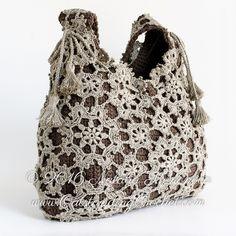 Outstanding Crochet: Sneak peek on a new pattern to be added soon - Crochet Motifs Bag.