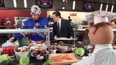 The SportsCenter cafeteria has a new chef and Henrik Lundqvist is the only person that can understand him.