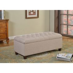 Andalucia 50 Inch Modern White Leather Bench Decor Pinterest