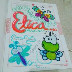 Notebook Covers, My Notebook, Miss Kiss, School Notebooks, Cute Notes, School Notes, Border Design, Stories For Kids, Holidays And Events