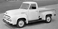 """Ford F-100 -- Everybody loves seeing a classic truck on the road, even if they aren't necessarily """"truck people."""" If you can find an old Ford F-100 that you can pick up, you absolutely should. Just look at those fenders."""