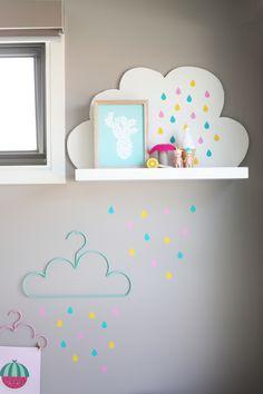 Nuages colorés #clouds #kidsroom
