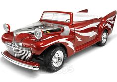 ''Greased Lightning'' Movie Car 1:18 Scale - AutoWorld Diecast Model