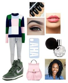 """Untitled #70"" by cannonsamiya on Polyvore featuring Cheap Monday, Markus Lupfer, NIKE, Dolce&Gabbana, LASplash, women's clothing, women, female, woman and misses"