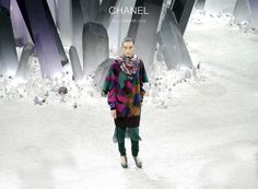 Chanel A/W 2012 collection: earth minerals