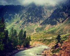 Flowing thru Mountains #Kunhar #River #Kaghan #Pakistan