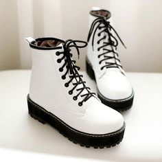 New style lace casual boots
