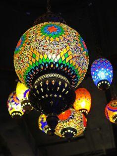 Brillantes Linternas Marroquíes - cegoh