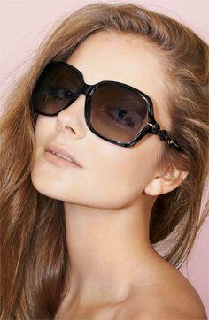 54edde0fcf3 Gucci  Marina Chain  59mm Oversized Sunglasses