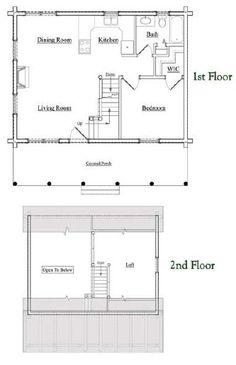 2 Bedroom 2 Bath Barndominium Floor Plan For 35 Foot Wide