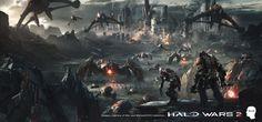 ArtStation - HALO WARS 2 - ATRIOX, Juan Pablo Roldan