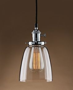 Permo Vintage Incandescent One Light Pendant Mini Cone Clear Glass Ceiling Hanging Lamp Fixture 1-light (Chrome) Permo http://www.amazon.com/dp/B015MQQLBS/ref=cm_sw_r_pi_dp_Nw2Twb0JK22SJ