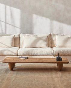 Neva Sectional Sofa – Sixpenny Home Living Room, Living Room Decor, Living Spaces, Home Decor Inspiration, Interior Design Inspiration, Corner House, Home Upgrades, Wabi Sabi, Interiores Design