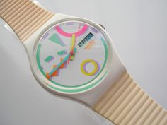 Swatch Watch--I used to have this exact same one!  Memories....