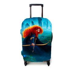 Brave Princess Merida Luggage Cover – Etsyenvy Brave Princess, Princess Merida, Luggage Cover, Suitcase, Briefcase