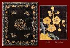 I tappeti cinesi Nichols in verde, comunemente chiamati ...