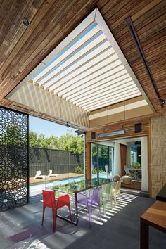 Take control of the weather with the innovative Stratco Outback Sunroof Patio. Pergola Canopy, Backyard Pergola, Pergola Shade, Patio Roof, Pergola Kits, Pergola Ideas, Terrace Ideas, Outdoor Rooms, Outdoor Living