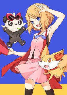c:  Arte por Poppy  #PokémonXY #KalosQueen