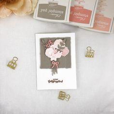 Geburtstagskarte mit dem Set Blüten des Augenblicks