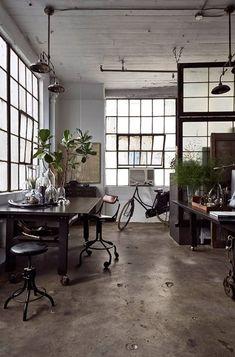 industrial interior 書斎 - Google 検索
