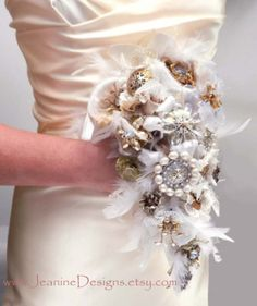 Bridal Bouquet - Steampunk Wedding
