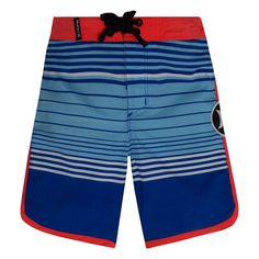 Boys 4-7 Hurley Peter Boardshorts, Size: 7, Blue Other