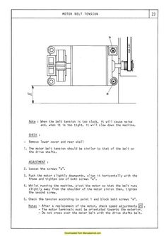 Elna 7000 Sewing Machine Service-Parts Diagrams Manual. Examples include: Hook timing, Motor belt tension, Needle clearance, Parts diagrams and list, Test Sewing Machine Service, Industrial Machine, Boat Plans, Manual, How To Remove, Diagram, Positivity, Boat Dock, How To Plan