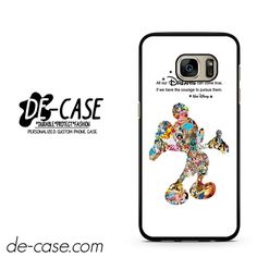 Disney Montage Disney Mickey Mouse Collage DEAL-3364 Samsung Phonecase Cover For Samsung Galaxy S7 / S7 Edge