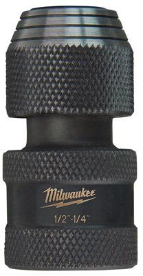 Milwaukee 48-03-4410 Shockwave 1/2-Inch Square by 1/4-Inch H...
