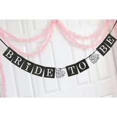Great bridal shower or hens party decoration!