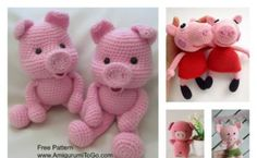 Crochet Amigurumi Pig Free Patterns