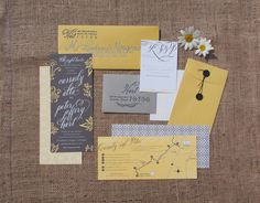 Lovely Day Atelier // Cassady & Peter Wedding Invitation Suite // Cassady Millington // Design and Calligraphy – Jessica Suhr