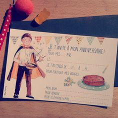 #carte #cartedanniversaire #birthday #birthdaycard #gateaux #bonbons #illustration #illustrationpesronnalisee #anniversaire #magic #magie #magicien