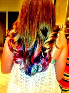 Inspiration: Ombre, Katy Perry and the 4t of July!
