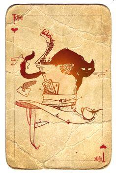 Chat de coeur, Chat porte-bonheur?