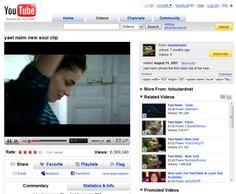YouTube acaba de cumplir 7 años y lo celebra con muy buenas cifras. Informó que cada minuto se sube a su plataforma 72 horas de video, lo que significa que cada minuto se sube tres días de videos.
